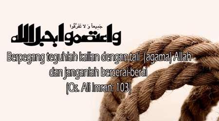 persatuan sebagai kekuatan islam yang determinan