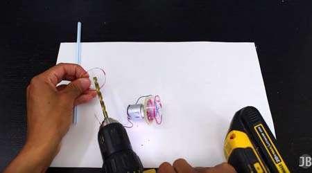 چگونه مینی پمپ آب بسازیم