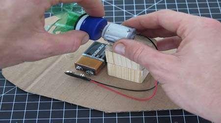 چگونه ماشین بادی بسازیم