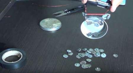 چگونه آهنربای الکتریکی ساده بسازیم