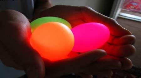 آموزش ساخت تخم مرغ نورانی