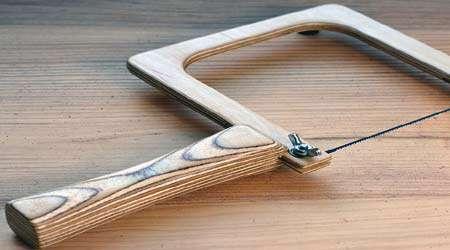 چگونه اره مویی چوبی بسازیم