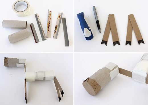 گوزن کاغذی