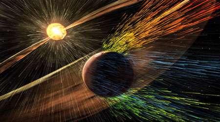 محاسبه سرعت بادهای خورشیدی با استفاده از داده های تلسکوپ فضایی soho