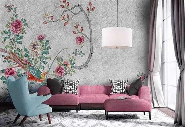 کاغذ دیواری، رنگ، دکوراسیون، نکات مثبت، نکات منفی، خانه، معماری ، زیبایی، دکوراسیون و چیدمان ، سیمرغ