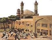 قم المقدسہ کی معروف دینی درسگاہ مدرسہ فیضیہ