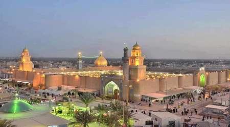 masjid agung kufah, simbol penantian imam zaman afs