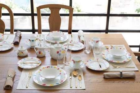 صبحانه، چیدمان،سرو صبحانه، دستمال سفره، زیبایی، فوت و فن، آموزش و کاردستی