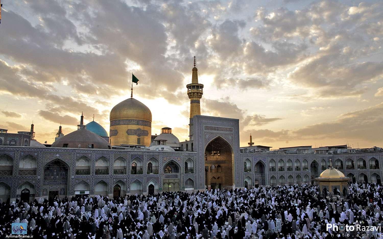 عکس با کیفیت از مشهد مقدس