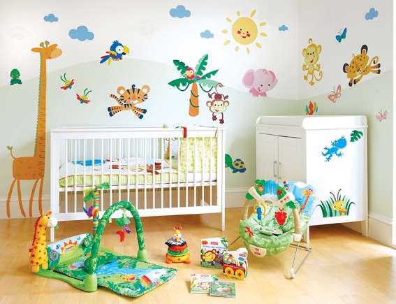 اتاق نوزاد، تزیین، سیسمونی، اتاق زایمان، تخت خواب، والدین، رشد کودک، شیرخواری، زیبایی، کودک