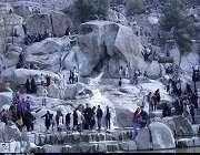 مشہد مقدس میں کوہ سنگی پارک کے خوبصورت نظارے