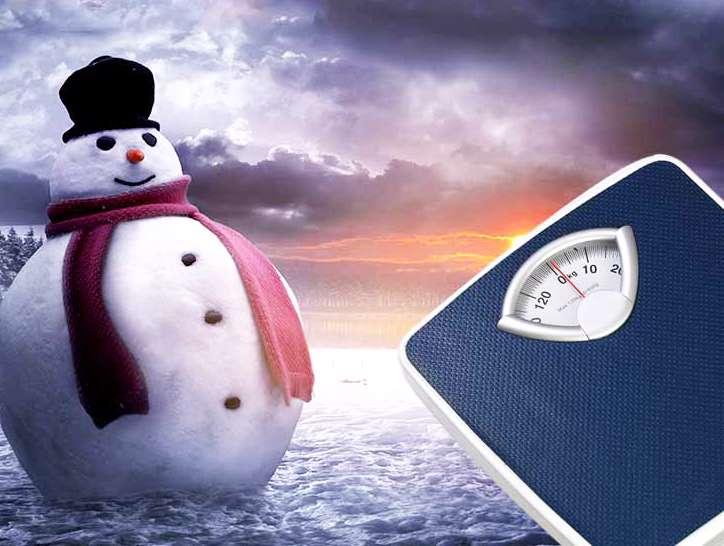 اضافه وزن در زمستان