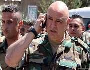 لبنانی مسلح افواج کے سربراہ جنرل جوزف عون