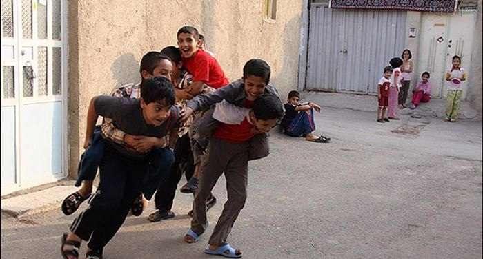 Image result for بچه ها در کوچه