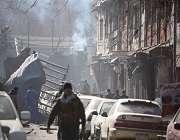 کابل سفارتی زون میں خودکش دھماکہ، 40 جاں بحق اور 140 زخمی