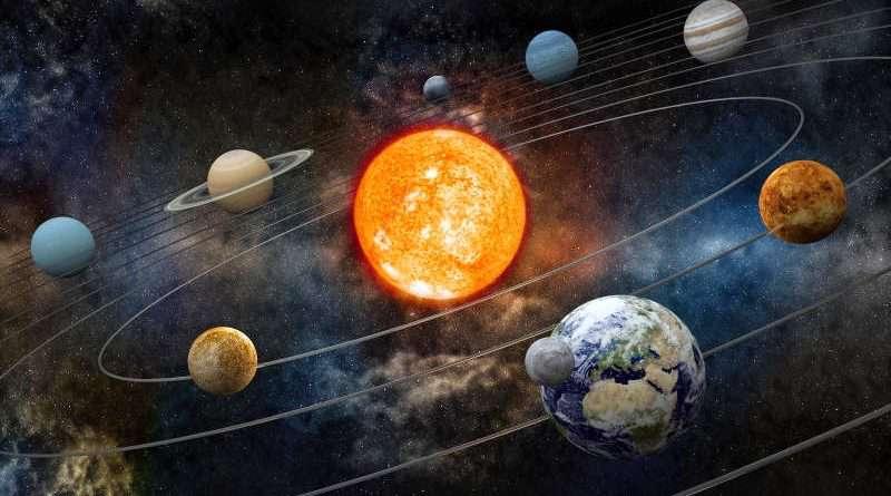ماه، خورشید، کهکشان