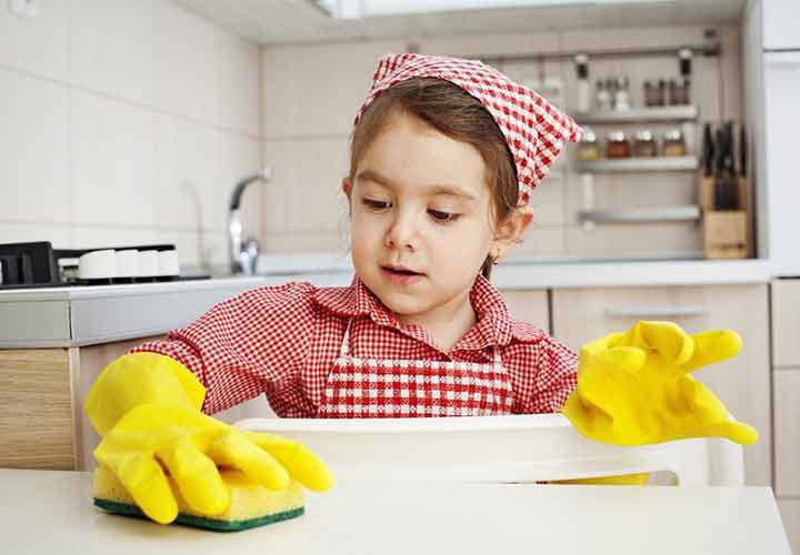 مسئولیت پذیری کودکان