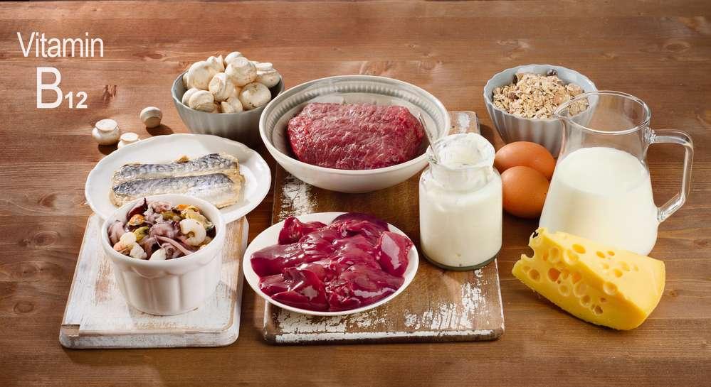 منابع غذایی ویتامین ب12