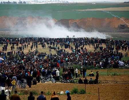 فلسطينيو الداخل المحتل يشاركون في مسيرة العودة