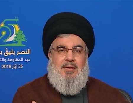 السيد نصر الله: الحصار السياسي والمالي للمقاومة معركة خاسرة