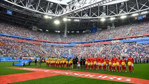 آلبوم تصاویر بازی بلژیک و انگلستان