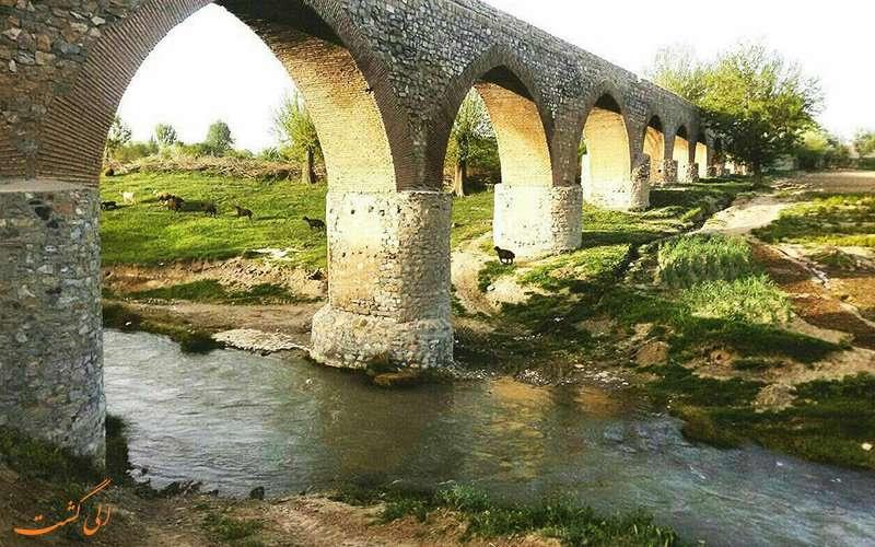 پل قلعه حاتم، شاهکاری تاریخی برای انتقال آب در بروجرد