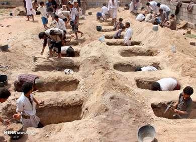 قبرهای کوچک برای جنایتی بزرگ