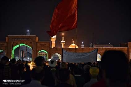عزاداری شب شهادت امام جواد (ع) در مشهد