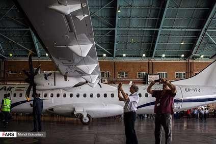 ورود هواپیماهای ATR به فرودگاه مهرآباد