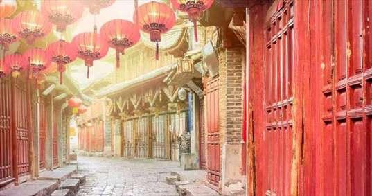 شهر توریستی لیجیانگ در چین