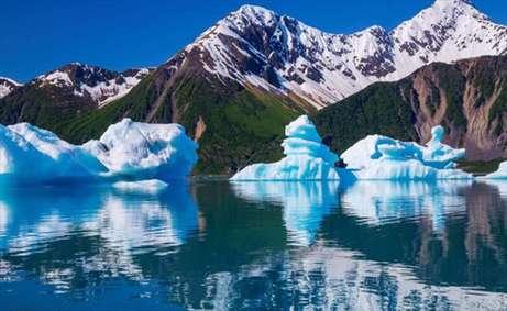 تصاویری از کوهای یخی