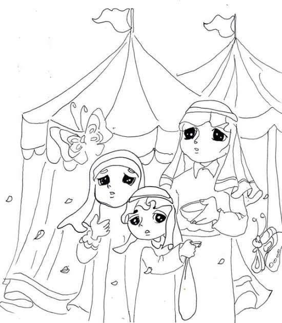 نقاشی محرم برای کودکان