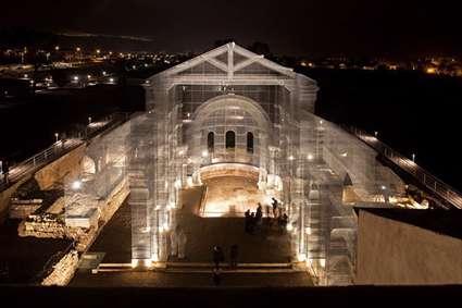 خلاقیت هنرمند ایتالیایی و احیای بنایی باستانی به سبکی نو