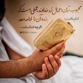 حدیثی از امام باقر در مورد محبوب ترین آدم