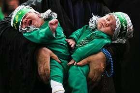 آئین شیرخوارگان حسینی در استانها