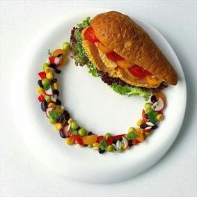 ساندویج مرغ