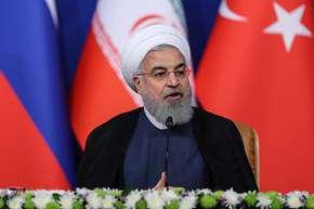 نشست خبری اجلاس سهجانبه ایران، روسیه و ترکیه
