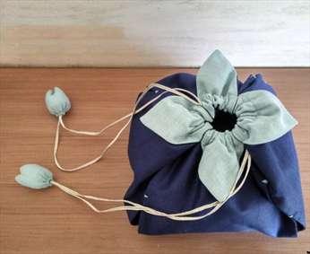 آموزش دوخت یک کیف به شکل گل