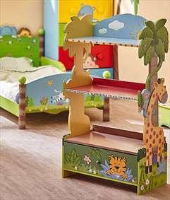 قفسههایی برای نظم بخشیدن به اتاق کودکان