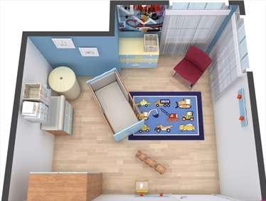 ایدههایی برای جانمایی وسایل اتاق نوزاد