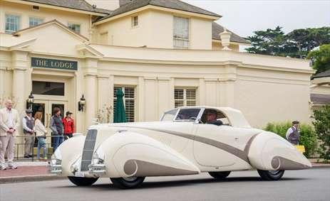 بهترین و عجیب ترین ماشین ها در جشنواره مونتری کالیفرنیا