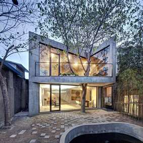 درختان در دنیای معماری