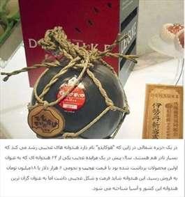 برداشت هندوانه سیاه در ژاپن