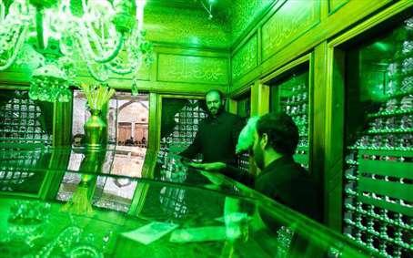 آئین غبارروبی آرامگاه مطهر حضرت عبدالعظیم حسنی(ع)