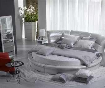 تختخوابهای گرد، ایدهای شیک و راحت برای اتاق خواب
