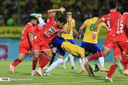 فوتبال پرسپولیس و صنعت نفت آبادان