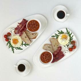 یک صبحانه خوشمزه