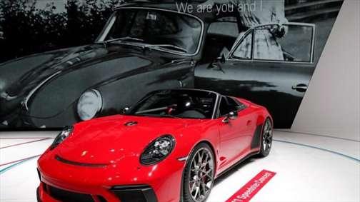نمایش ابرخودرهای دنیا در نمایشگاه خودرو پاریس 2018