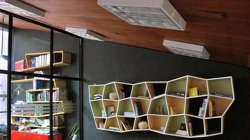 قفسههای کتاب در طرحهایی خاص و زیبا