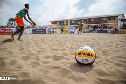 تور تکستاره جهانی والیبالساحلی در بندر ترکمن